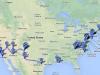 Alle meine USA-Fahrstrecken in der Übersicht
