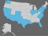Alle besuchten Staaten in den USA