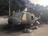 """Der berühmte """"Bell UH-1 (Huey)""""-Hubschrauber des Vietnamkriegs"""