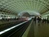 Die U-Bahn Station sind in DC weitaus geräumiger als in New York