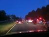 Verkehr auf dem Rückweg von der Arbeit