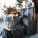 Lenas Gepäck