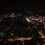 Blick auf Boston vom 52. Stock des Prudential Tower