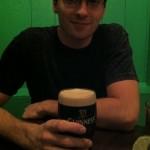 Mein Mitbewohner Frank und sein Guinness