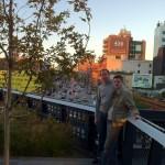 Kai und ich vor der 10th Avenue