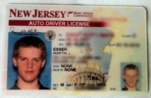 New Jersey Auto Driver License